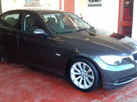 BMW 3 Series 320d (56) Grey Saloon, Manual Diesel, 103k miles