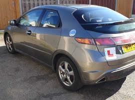 Honda Civic, 2006 (06) Grey Hatchback, Manual Diesel, 129,000 miles
