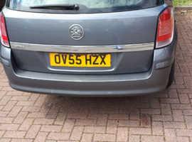 Vauxhall Astra, 2005 (55) Grey Estate, Manual Petrol, 10,400 miles
