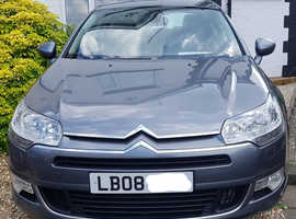Citroen C5, 2008 (08) Grey Saloon, Manual Diesel, 86,000 miles