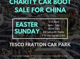Charity Car Boot Sale - Fratton Park