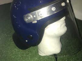 Genuine police riot helmet