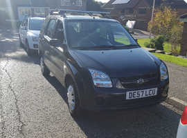 Suzuki Ignis, 2007 (57) Black Hatchback, Manual Petrol, 50,000 miles