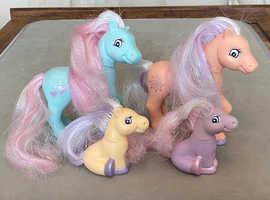 Lanard Vintage 1997 Pony Figures