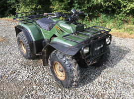 KAWASAKI KLF400 ALL WORKS CHEAP QUAD BIKE TRADE SALE TO CLEAR NO VAT CAN DELIVER