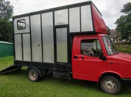 Freight Rover Sherpa Horsebox Full MOT