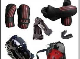 Sparring Kit Black and Red