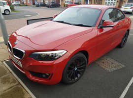 BMW 2 SERIES, 2016 (16) Red Coupe, Manual Petrol, 25,548 miles