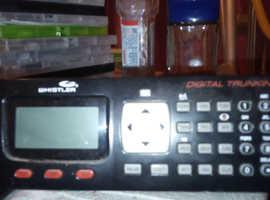 Whistler radio scanner digital