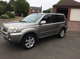 06 PLATE NISSAN X TRAIL 2.2 DCI 6 SPEED FULLY LOADED SAT NAVIGATION