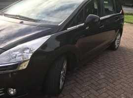 Peugeot 5008, 2012 (12) Black MPV, Manual Diesel, 19,000 miles