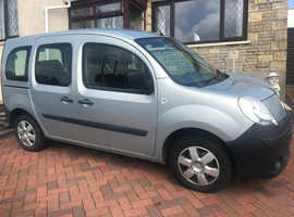 Mobility adapted Renault Kangoo, 2011 (11) Grey MPV, Automatic Petrol, 47,000 miles