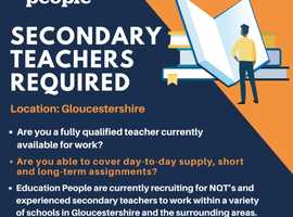 Secondary Teachers Required in Gloucestershire