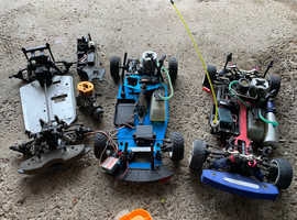 RC nitro car set