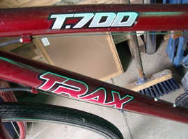 trax t700 bicycle 18 gears shimano
