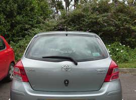 Toyota Yaris, 2011 (11) Silver Hatchback, Manual Petrol, 46,000 miles