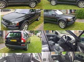 Volvo Xc90, 2003 (53) Black Estate, Semi auto Diesel, 222,000 miles