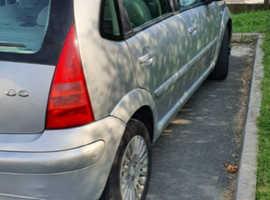 Citroen C3, 2003 (52) Silver Hatchback, Automatic Petrol, 93,073 miles