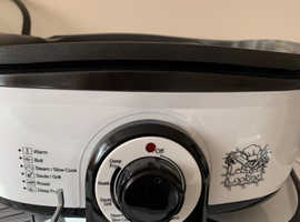 Multi cooker as new with instruction leaflet