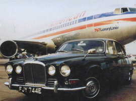 Classic 1967 Jaguar 420 BRG/BIS Perfect Runner