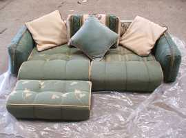 Green set of Cushions for Caravan/Campervans