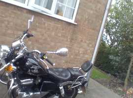 Selling my 125cc AJS as iv moved onto a larger bike.