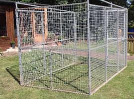 Galvanised Cage