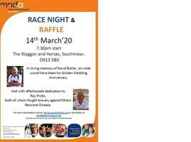 Race Night - in Aid of MND - Waggon and Horses Southmoor
