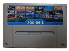 800 in 1 Cartridge Game Console Super SNES PAL