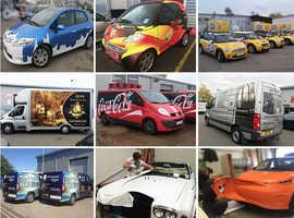 Car Wrapping London | Car Graphics & Branding London | Van Wraps in Wembley