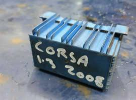 2007 VAUXHALL OPEL CORSA D 1.3 CDTi DIESEL GLOW PLUGS Relay 51299044 55557760