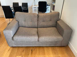 DFS Slate Large 2 Seater Sofa with Pull Out Sofa Bed