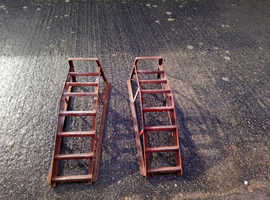 Wheel ramps two