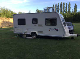 Bailey Pageant Bordeaux 4 Berth Caravan 2007 Motor Mover