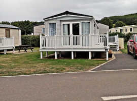6 berth ABI Beachcomber 36'x12' (2012) 2 bedroom Holiday Home sited at Doniford Bay