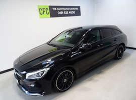 Mercedes CLA, 2018 (68) Black Estate, Automatic Petrol, 14,000 miles