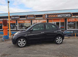 Nissan Micra, 2009 (59) Black Hatchback, Automatic Petrol, 50,000 miles