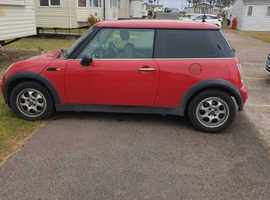 Mini MINI, 2002 (51) Red Hatchback, Manual Petrol, 109,000 miles