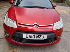 Citroen C4, 2010 (10) Red Hatchback, Manual Petrol, 65,503 miles