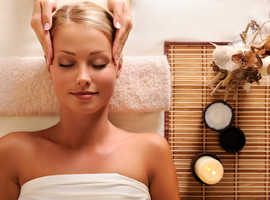 Relaxing massage at your home