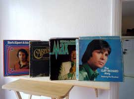 4 vinyl box collections.