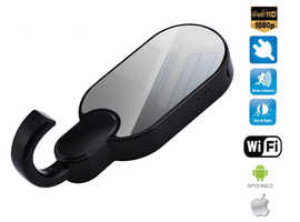 The hanger with FULL HD camera + motion detection + WiFi support (Pack of 2)