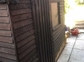 Shed 7 ft x 5 ft approx. Free,  for Repair or Firewood.
