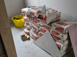 Plaster   Multi Finish 80 bags  all in date