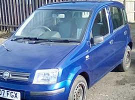 Fiat Panda, 2007 (07) Blue Hatchback, Manual Petrol, 98,530 miles
