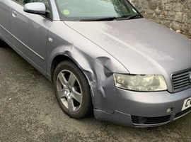 Audi A4, 2004 (04) Silver Saloon, Cvt Diesel, 118,988 miles
