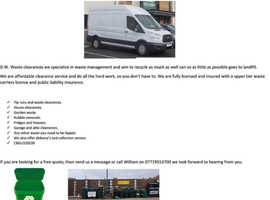 D.W Waste clearances