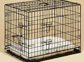 """Large 48"""" Dog/Cat Cage Collapsible New Boxed"""