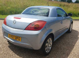 Vauxhall Tigra, 2007 (57) Blue Coupe, Manual Petrol, 64,000 miles