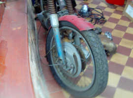 t120 project bike for sale